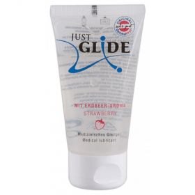JUST GLIDE JORDGUBBSSMAK 200ml