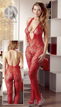 CATSUIT RED PEARL