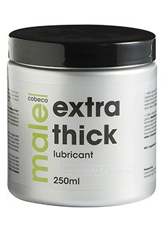 MALE LUBRICANT EXTRA THICK 250 ML