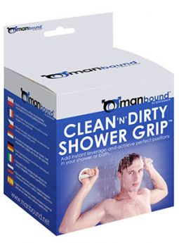 Clean And Dirty Shower Grip