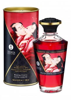 Aphrodisiac Blazing Cherry - Värmande Olja 100ml