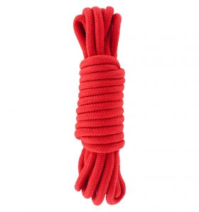 BONDAGE ROPE 5 METER RED