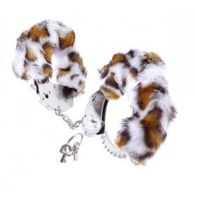 Furry Cuffs vit