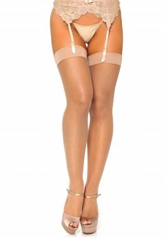 Micro net spandex stockings