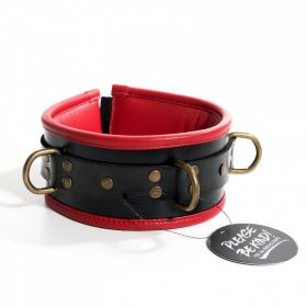 Padded Collar Black/Red