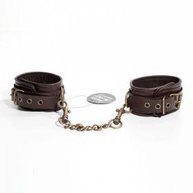 Ankle Cuffs Brown