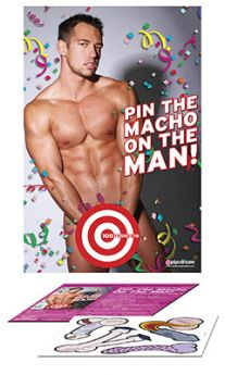 Bachelorette Pin The Macho On The Man