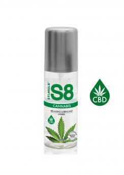 S8 Cannabis Relaxing Hybrid Lubricant - 125ml
