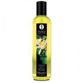 Shunga Erotisk Massageolja Grönt Te 250ml