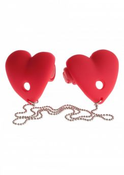 Vibrating Heart Pasties