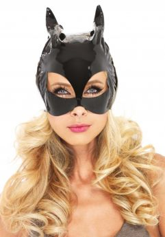Vinyl Cat Woman Mask