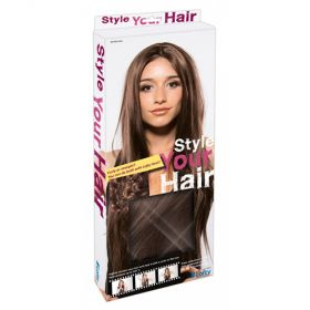 WIG LONG STRAIGHT HAIR - BROWN