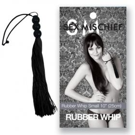 S&M Rubber Whip Small